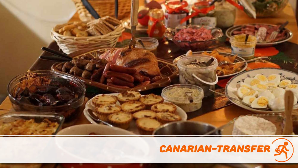Christmas gastronomy in the Canary Islands
