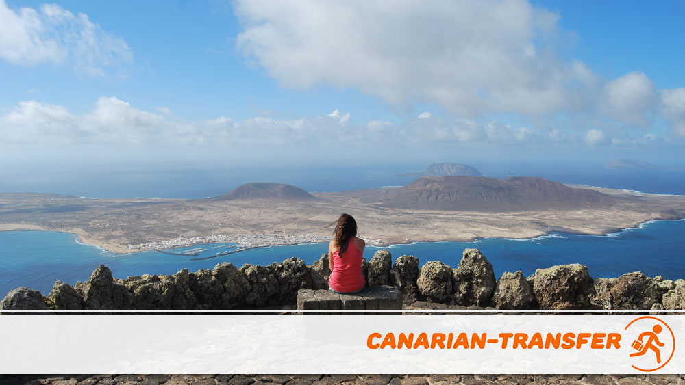 Visiting the Mirador del Río in Lanzarote